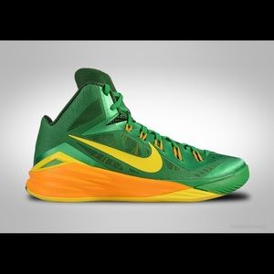 check out 992ed f0610 Nike Shoes - Nike hyperdunk 2014 yellow green size 11